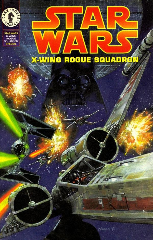 Image result for x wing rogue squadron comic