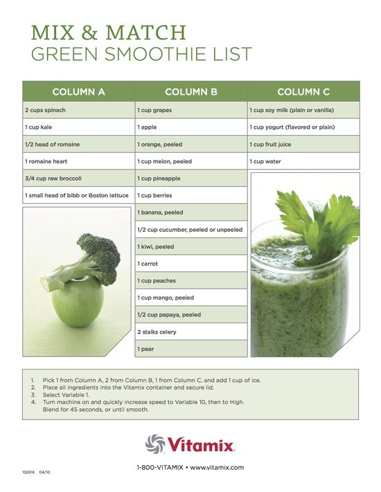 vitamix smoothie list #Vitamix Use code 06-006499 for free shipping at Vitamix.com