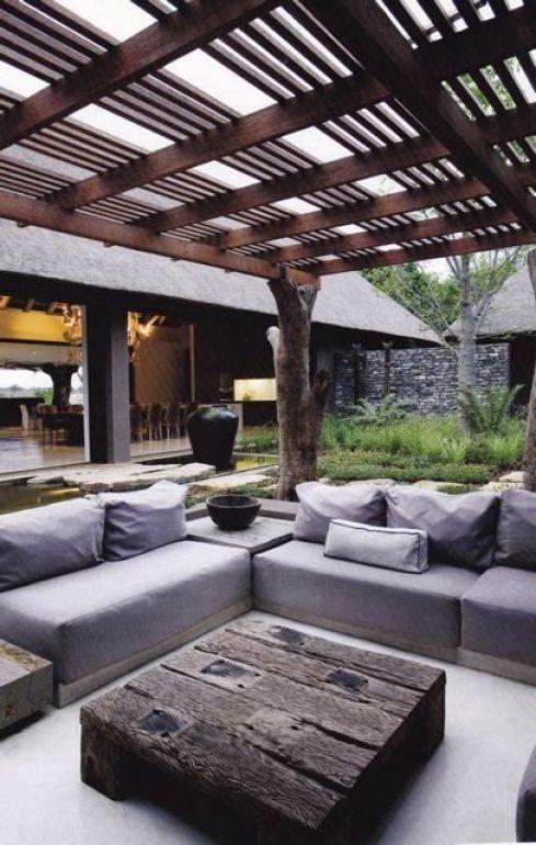 Creare una zona lounge in giardino guida giardino - Comporre un giardino ...