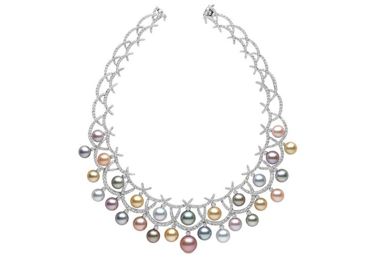 Carnevale Necklace from Yoko London