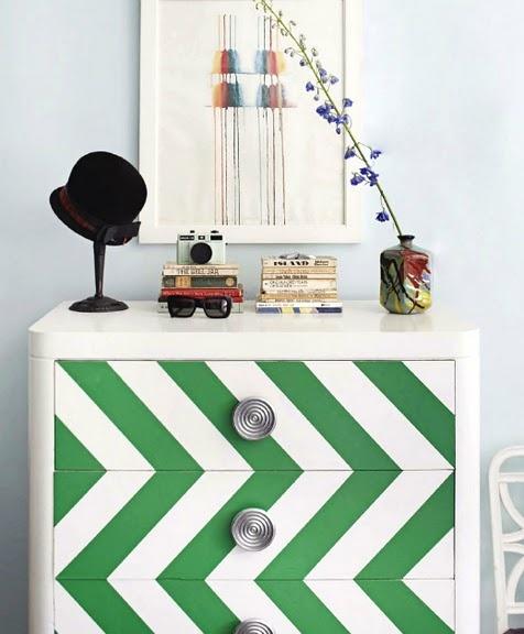 dresser attributed to Nick Olsen via House Beautiful