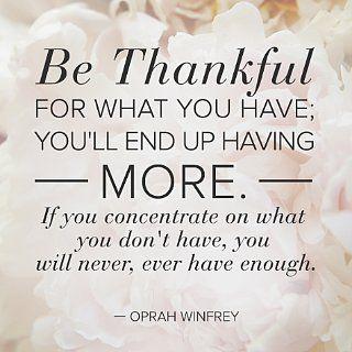 ~be thankful~