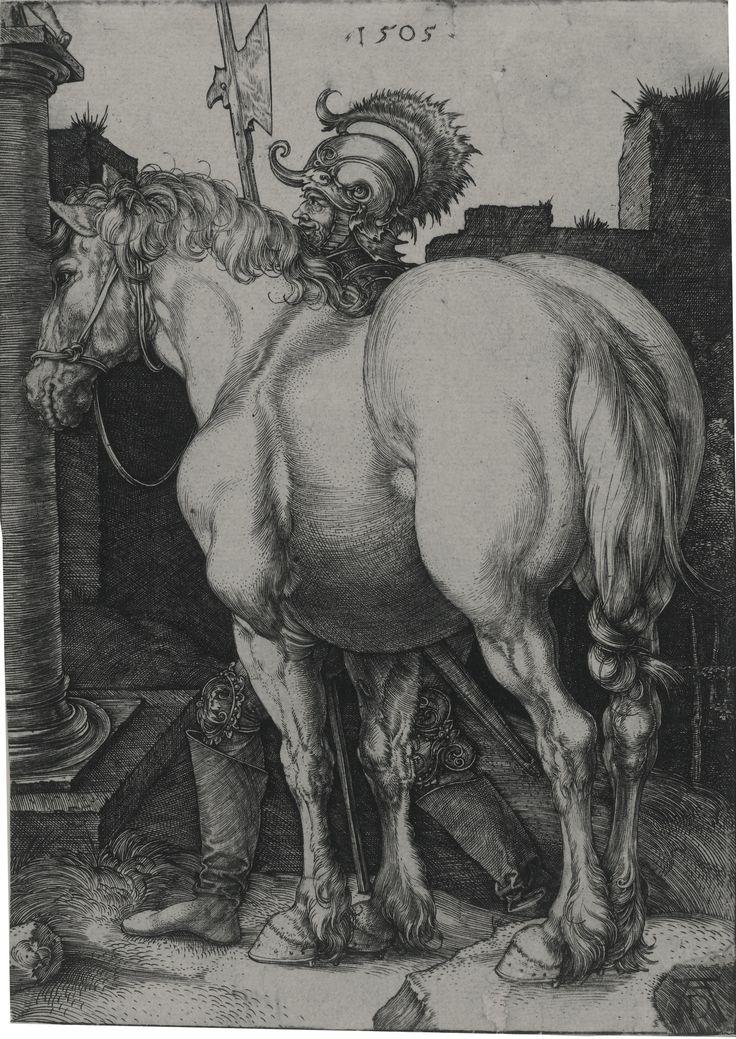 Albrecht Dürer, The large horse (B. 97; M., HOLL. 94)