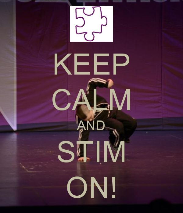 KEEP CALM AND STIM ON!