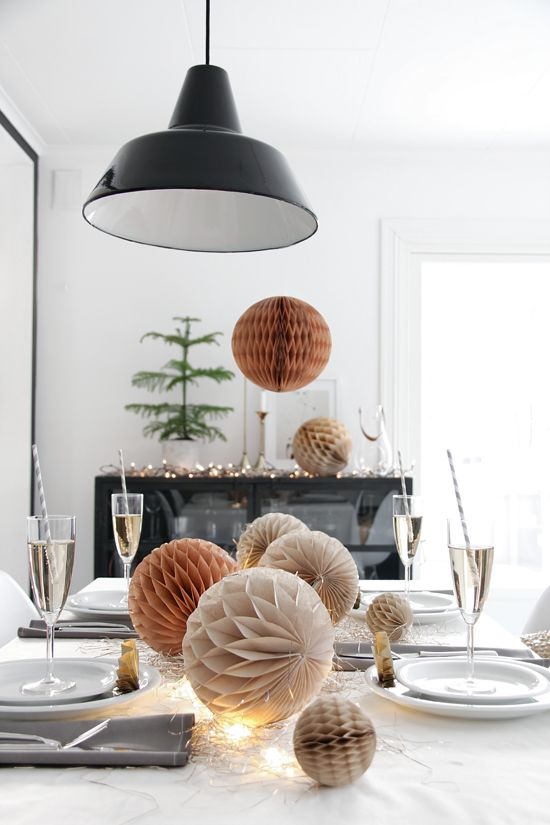STYLIZIMO BLOG: Make a festive table setting for New Year´s!