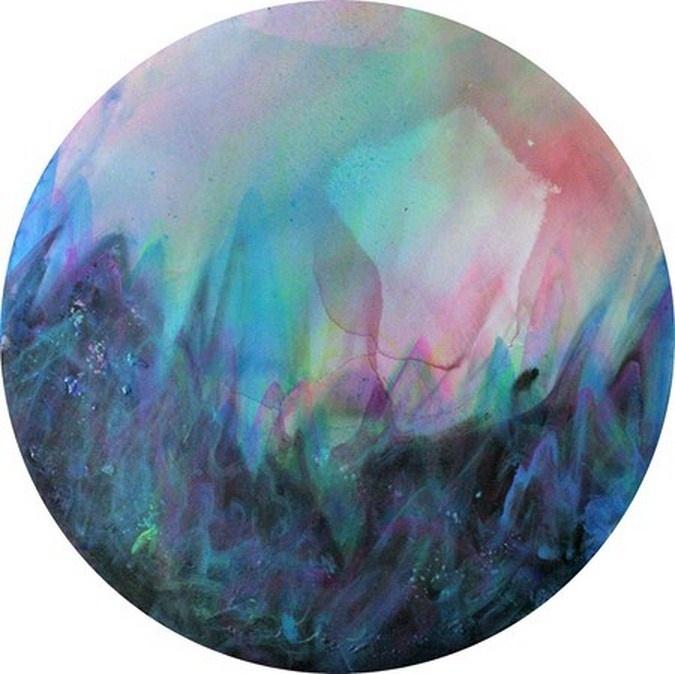 """Zdenek Spour, 2012, """"Tondo Landscape"""""""