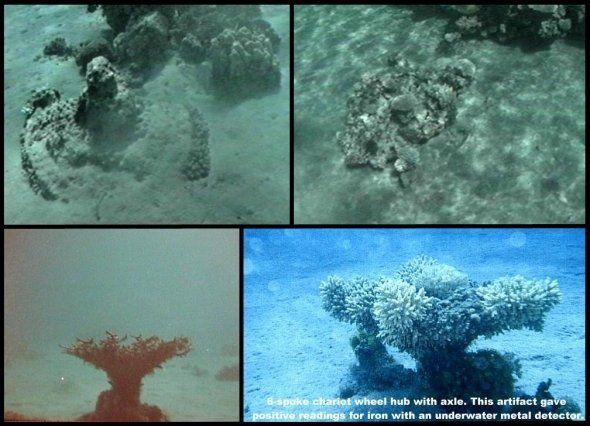 Red Sea Crossing Discovered. Artifacts & Evidence