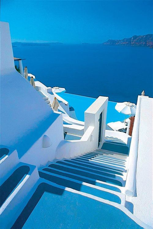 Shades of Blue, Santorini, #Greece