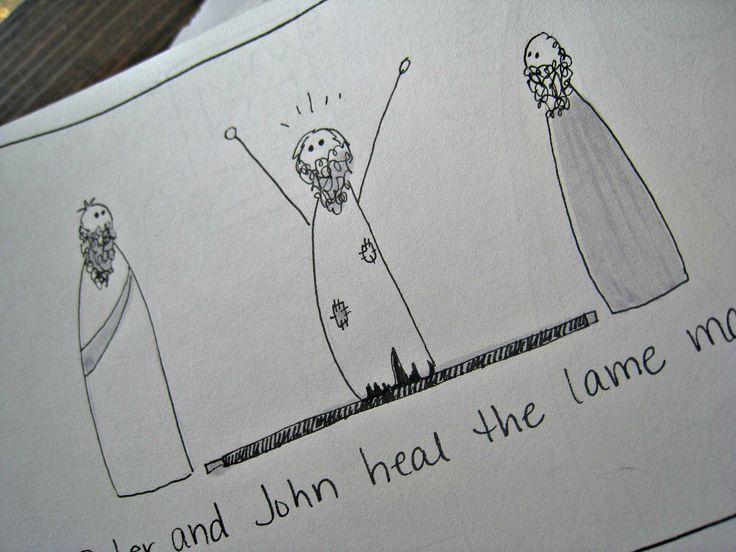 What's in my Bible Journal. www.stonesoupforfive.blogspot.com