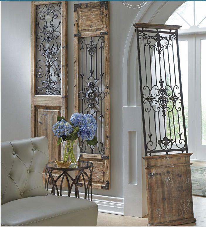 gate wall decor grandin road home decor design looks on wall art decor id=52487