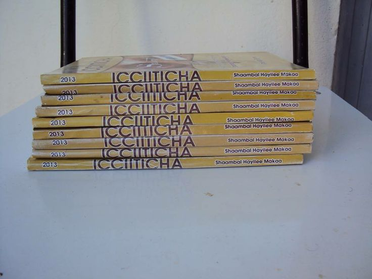 Icciiticha. New Afaan Oromo book. Interesting to read