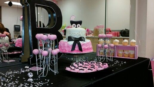 Brooklyn's Bling Baby Shower decor by A.S.T.E.P ( A Special Touch Event Planning)
