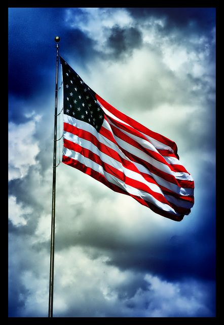 How Bright Our Flag  Against The Sky  Atop Its Flagpole  Straight and High!    How Bright The Red,  The White The Blue,  With What They Stand For Shining Through    More Meaningful  As Years Go By  How Bright, How Bright  The Flag We Fly. - By James Kuehn age 9 years.