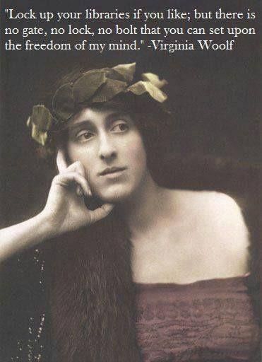 Attitude Virgina Woolf