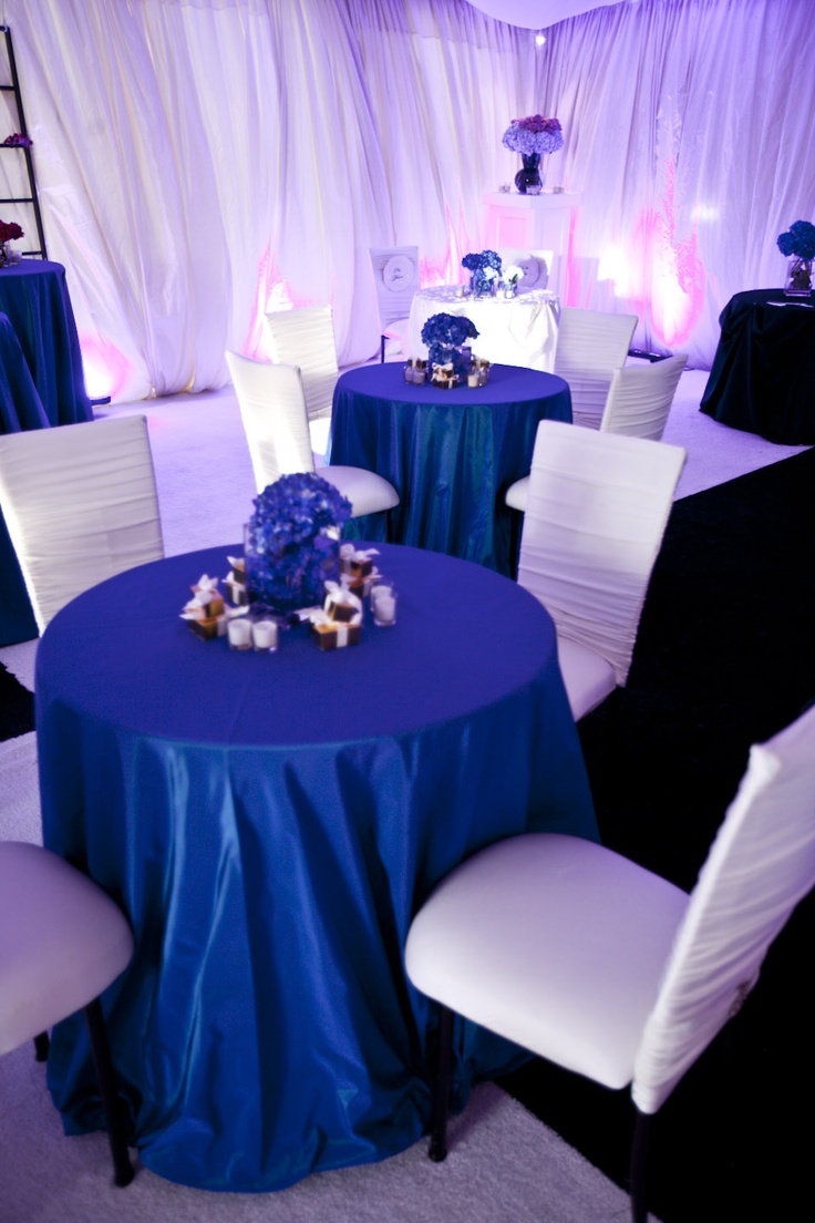 Winter White and Blue Wedding by Premiere