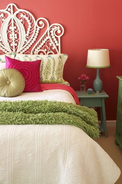 eclectic bedroom by Story & Space - LOVE for a guest room!!!