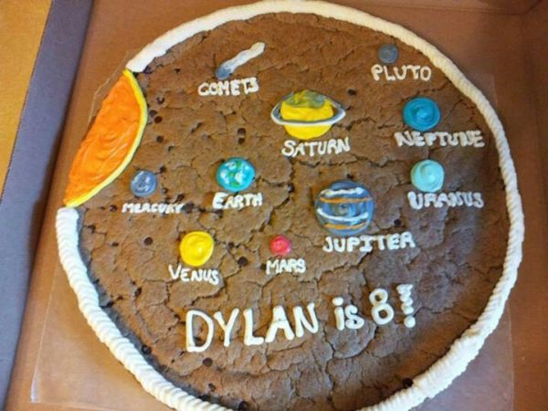 Solar System Cookie Cake Projects Pinterest