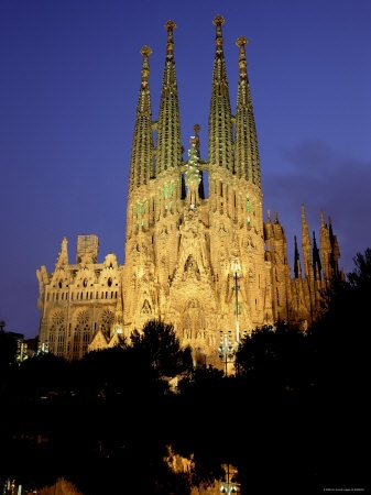 Sagrada Familia Cathedral, Barcelona, Spain - hopefully i make it to Barcelona when i'm in Madrid!