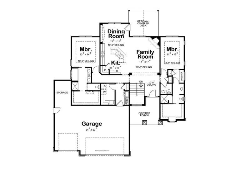 Dual Master Bedrooms