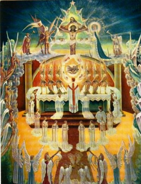 The wonder, glory and grandeur of the Holy Sacrifice of the Mass.