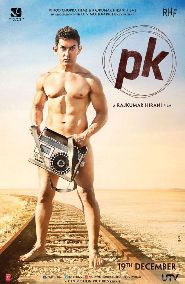 """""""PK"""" (2014) starring Aamir Khan"""