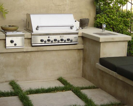Barbecue in giardino idee e ispirazioni guida giardino - Angolo barbecue in giardino ...
