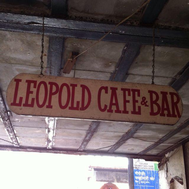 Shantaram - Leopolds Cafe, Bombay!