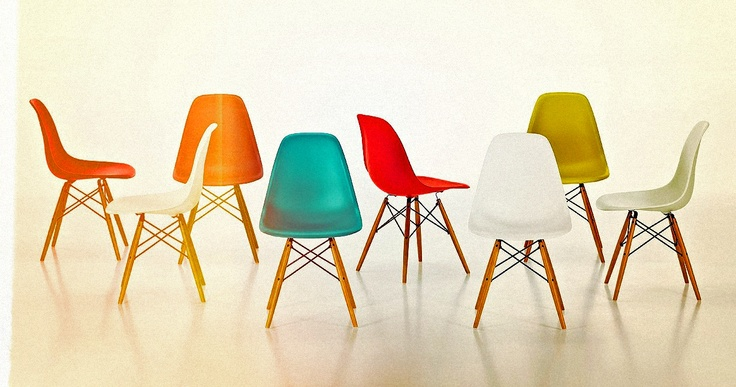 Eames Eiffel chair, designed in 1948.