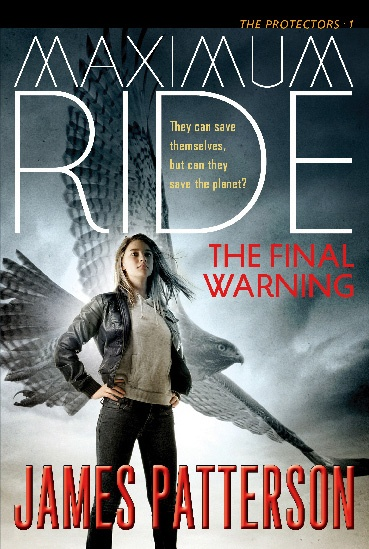 Older cover for Maximum Ride: The Final Warning.