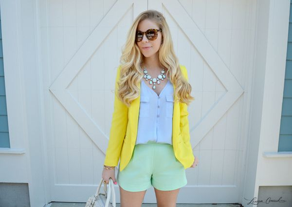 Tips for Color Mixing on Lauren Conrad by Anna James of Fash Boulevard