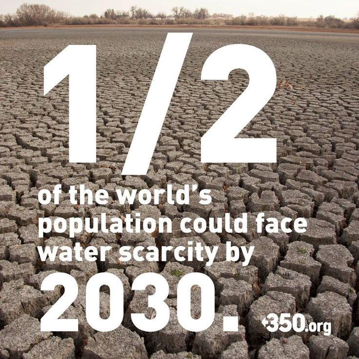 CLEAN WATER IS OUR WORLD'S MOST PRECIOUS NATURAL RESOURCE & MUST BE PRIORITIZED ABOVE ALL OTHER! YOU JUST CAN'T DRINK OIL, GOLD, COPPER, URANIUM..........          The world's wells are drying out, and soon billions of people will go thirsty -- or have to drink what shouldn't be.     This is a defining issue of the next decades -- please SHARE to sound the alarm!     http://www.guardian.co.uk/environment/2013/may/24/global-majority-water-shortages-two-generations