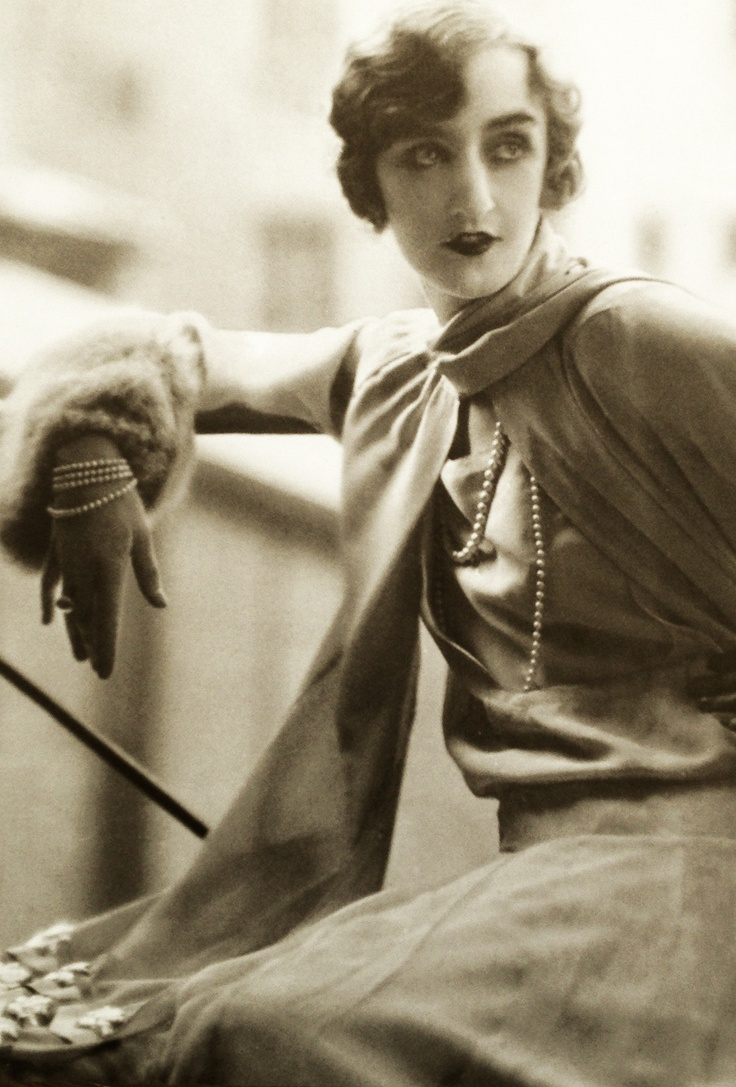 Dress by Lucien Lelong 1925