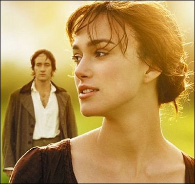 Pride and Prejudice- oh, how i love this movie.