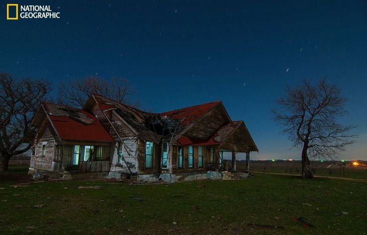Abandoned farm house sanger texas around the world