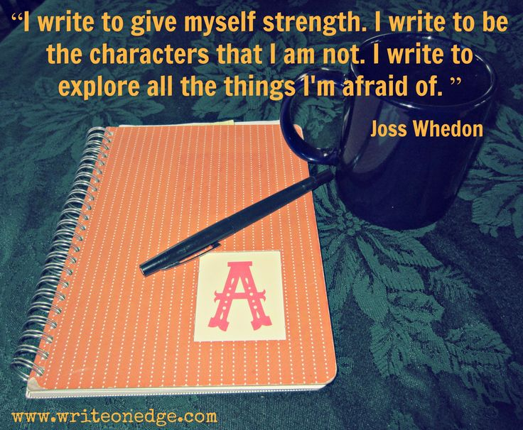 Writing Quote by Joss Whedon