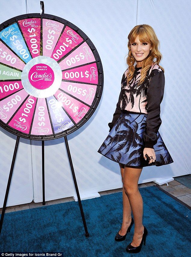 Actress and Singer Bella Thorne