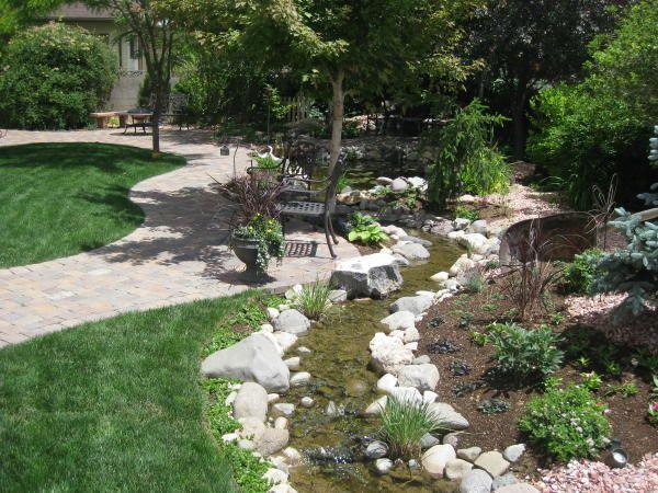 Small Backyard Stream   Gardening   Pinterest on Backyard Stream Ideas id=25572