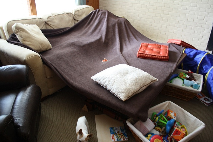 Build a fort with your kids!