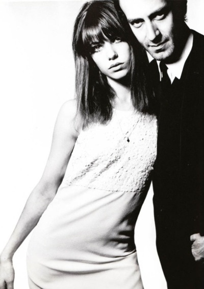 Jane Birkin and John Barry by David Bailey