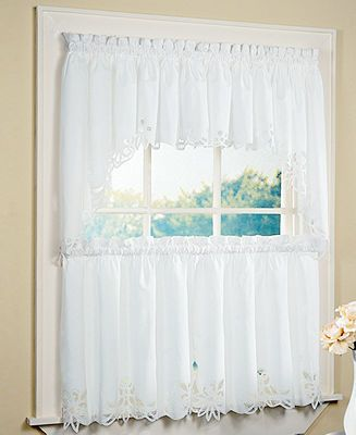 Cafe Curtain Tier Curtains Home Macy