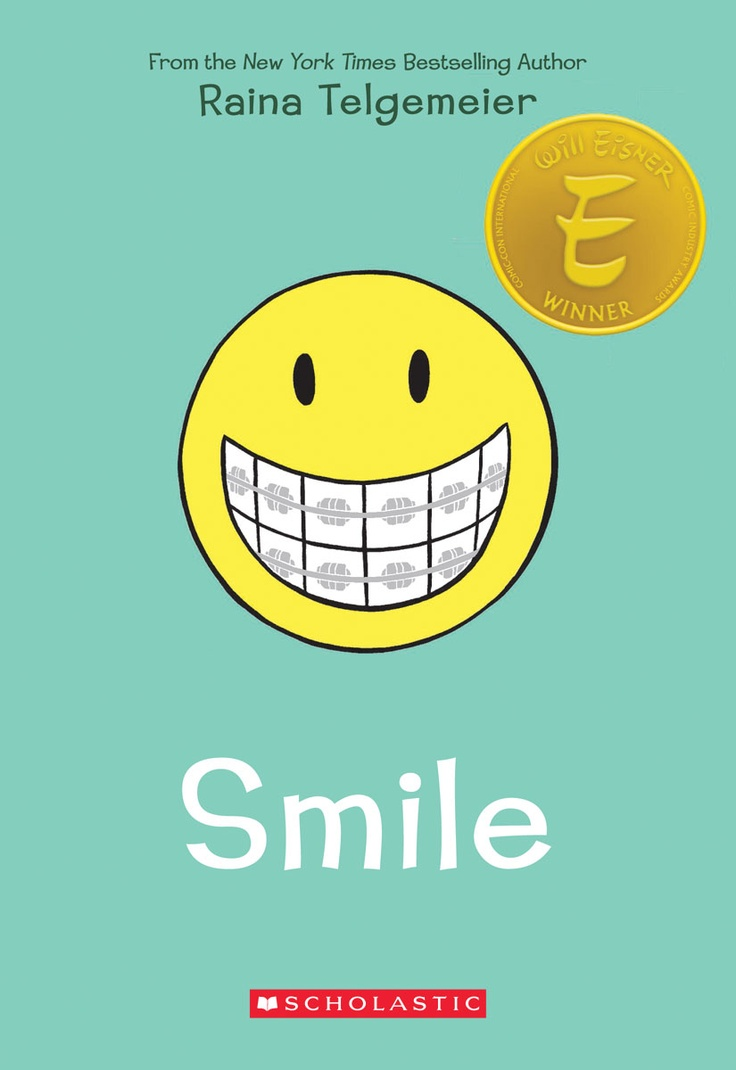 Image result for smile raina telgemeier