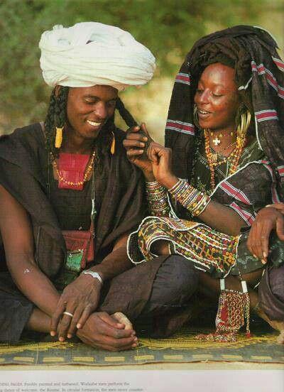 Tuareg couple