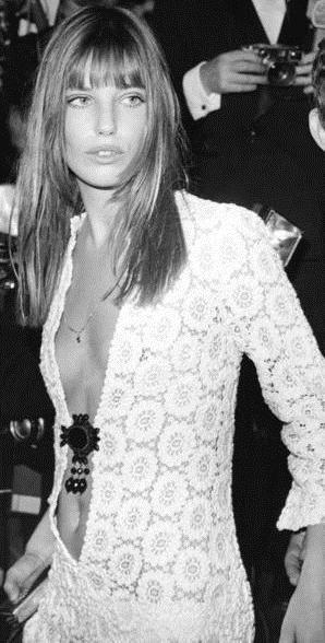 Jane Birkin , 1968.
