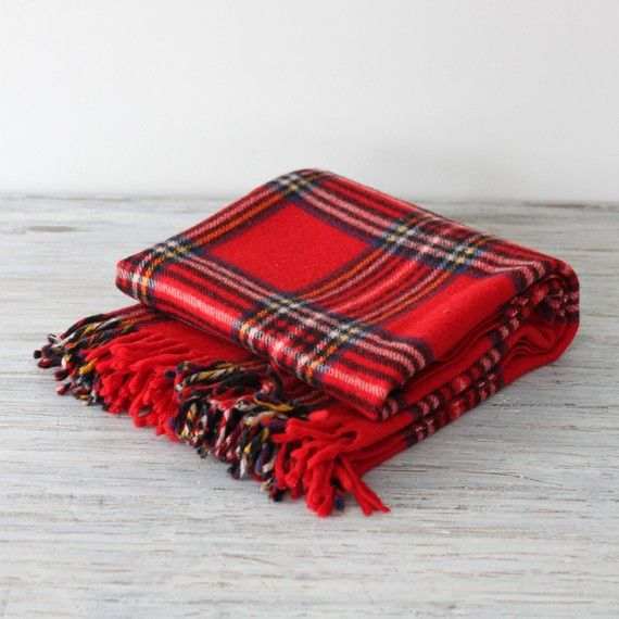 wool, tartan scarf. Perfect autumn/winter accessory