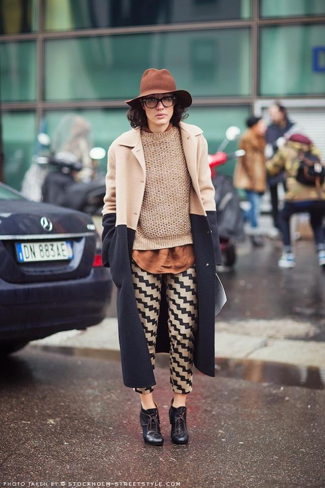 tumblr_mit593dKBj1r0iib8o1_1280 || Brown Wide Brimmed Hat || Layers || Fashion || Warm Weather