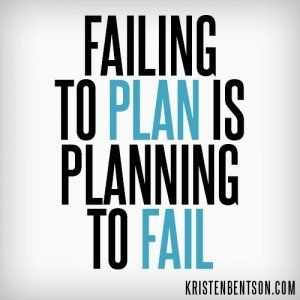 Failing to Plan is Planning to Fail | YouAnew Lifestyle Nutrition