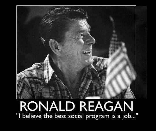 I believe the best social program is a job