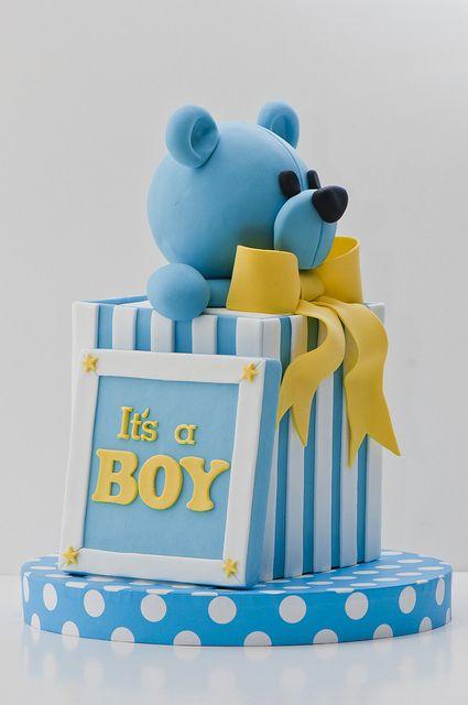 It's a boy #cake