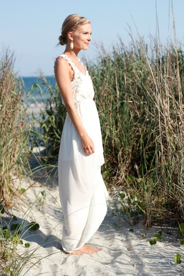 Life with Emily | a life + style blog : White Maxi Dress