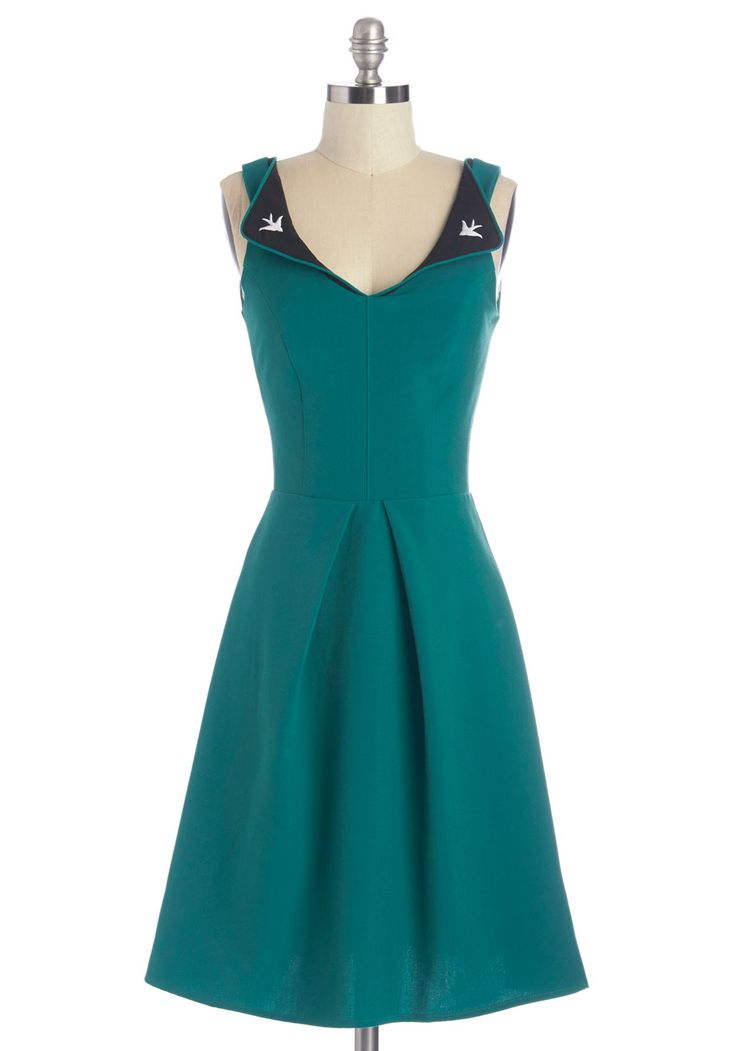 a lovely pair dress (modcloth)